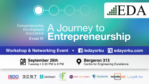 Event #1: A Journey to Entrepreneruship @ Workshop and Networking Event | Ontario | Canada