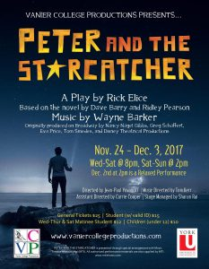 Peter and the Starcatcher @ Fred Thury Studio Theatre | Toronto | Ontario | Canada