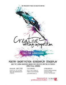 Cash Prizes in Creative Writing Contest for Students - Call for Submissions @ 524 Atkinson | Toronto | Ontario | Canada