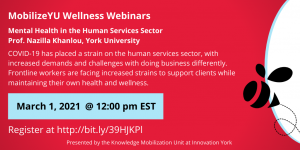 Mental Health in the Human Services Sector @ Online