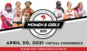 Women and Girls Leadership and Sport Conference (WGLSC) @ Live on Zoom